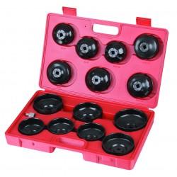 Zestaw 15 nasadek do filtrów oleju