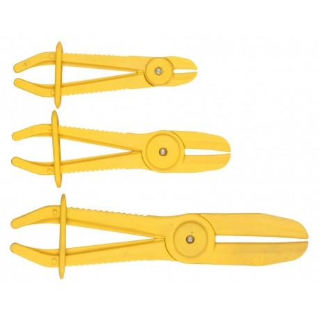 Zestaw 3 zacisków do przewodów z cieczą