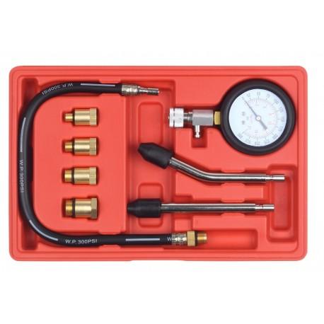 Miernik ciśnienia sprężania benzyna 6 końcówek