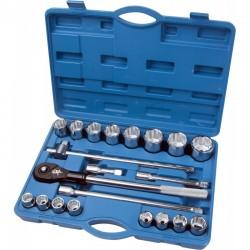 Zestaw narzędziowy 3/4 cala 19-50 mm 12 kątne