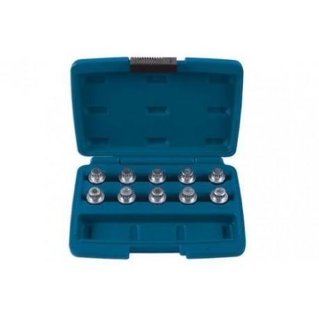 Zestaw kluczy do śrub kół zabezpieczających 10 elem BMW