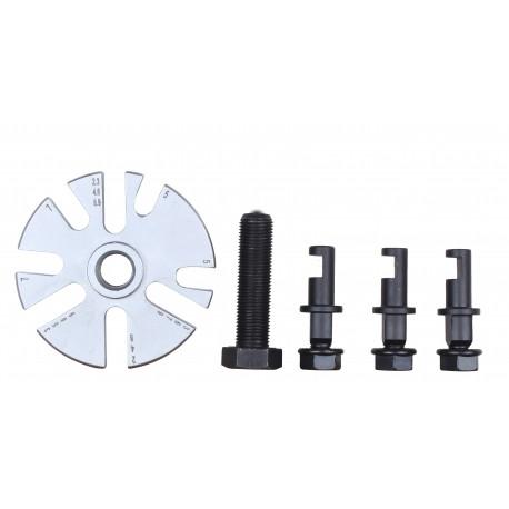 Ściągacz kół rozrządu 2 i 3 ramienny regulowane łapy